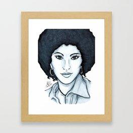 Pam Framed Art Print