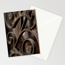 Fer forge at Notre Dame de Paris Stationery Cards