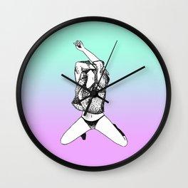 funk the punk Wall Clock