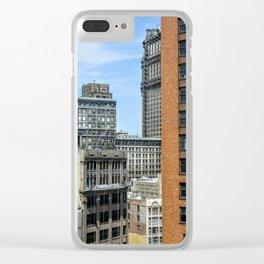 Work in Progress Clear iPhone Case