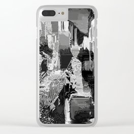 metal canal Clear iPhone Case