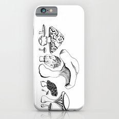Vintage style Mushroom Grouping  drawing Slim Case iPhone 6s