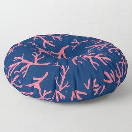 Flotsam Coral Floor Pillow