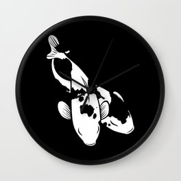 Wild Kois Wall Clock