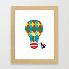 Jokester: Bright Idea Art Series  Framed Art Print