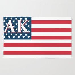 Alaska United States Flag Rug