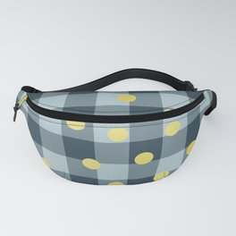 blue jeans & mimosa || pattern Fanny Pack