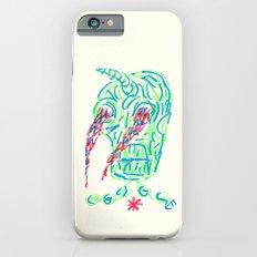 Skull On Fire #2 Slim Case iPhone 6s