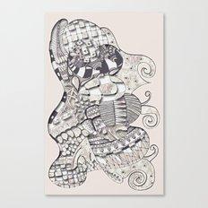 Roses Cake Canvas Print