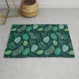 Leafy Palms Rug