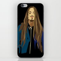 gangster iPhone & iPod Skins featuring Gangster by Elena Medero
