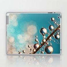 Heavenly Blue Smoke Drops Laptop & iPad Skin