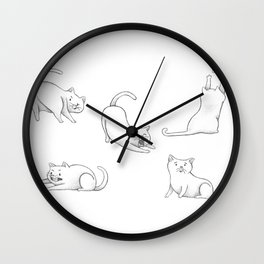 Nanaki! Wall Clock