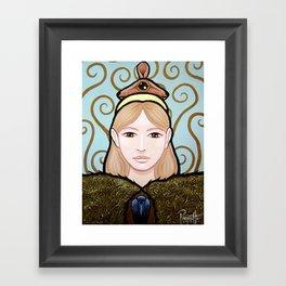 Wapakosis - Mouse Framed Art Print