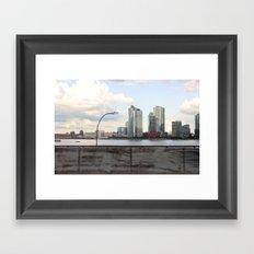 New York/Pepsi/River/Driving Framed Art Print