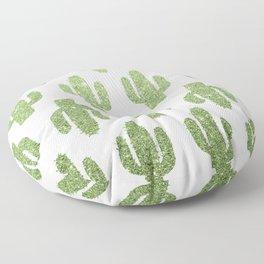 Glitter Cacti Floor Pillow