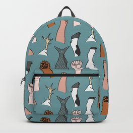 Unite Animal Equality Fists Backpack