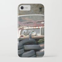 bmw iPhone & iPod Cases featuring Old BMW Wreck by Premium
