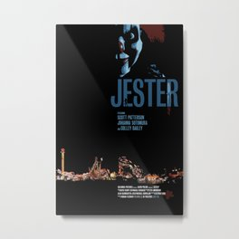 Jester Movie Poster Metal Print