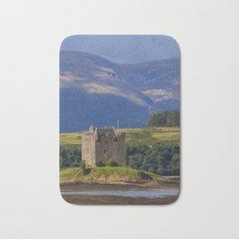 Castle Stalker Argyll, Scotland Bath Mat