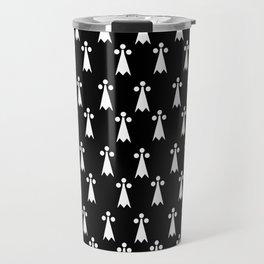 Hermine -Ermine-armino 5 Travel Mug