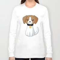beagle Long Sleeve T-shirts featuring Beagle by Freeminds