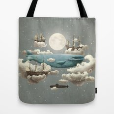 Ocean Meets Sky Tote Bag