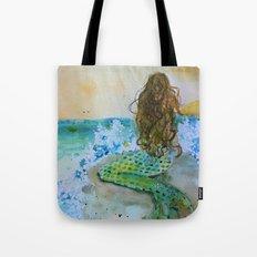 Final Joy Mermaid Tote Bag