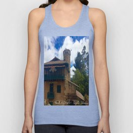 Mount Monserrate at Christmastime Maybe, Bogota, Colombia Unisex Tank Top