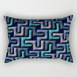 Geometrix LIII Rectangular Pillow