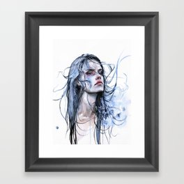 obstinate impasse Framed Art Print