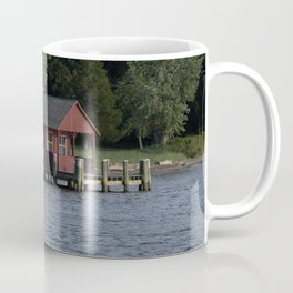 Boating on the Connecticut River Coffee Mug