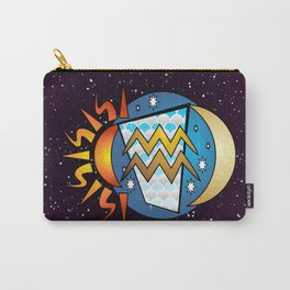 Astrology, Aquarius Carry-All Pouch