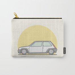 Renault 5 GT Turbo vector illustration Carry-All Pouch