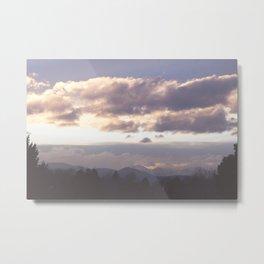 Rocky Mountain Lavendar Metal Print