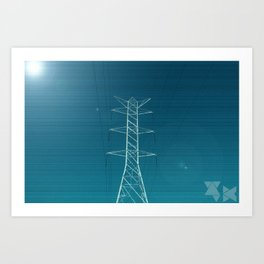 Power Art Print