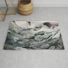 Dark Geode Rug