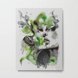 Kiss by carographic Metal Print