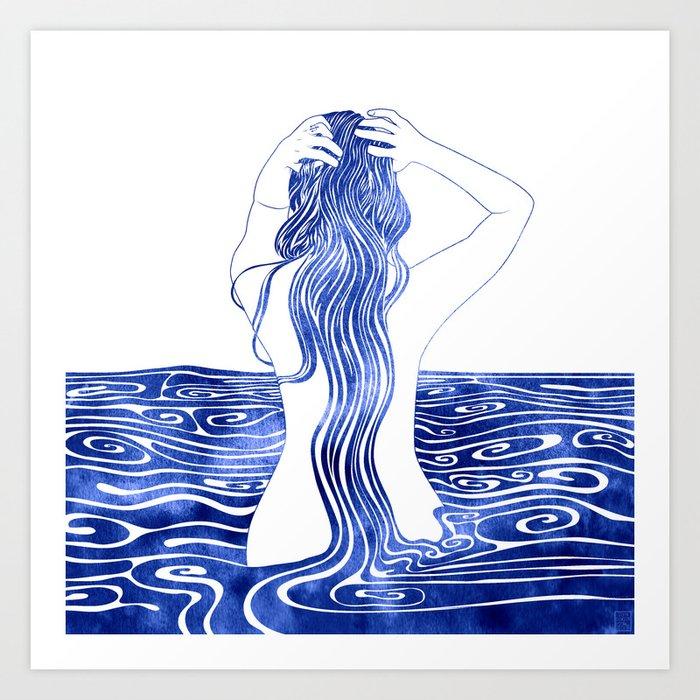 Nereid XI Art Print