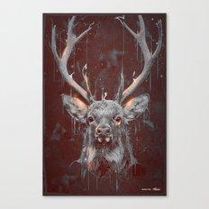 DARK DEER Canvas Print
