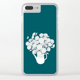 summer teapot Clear iPhone Case