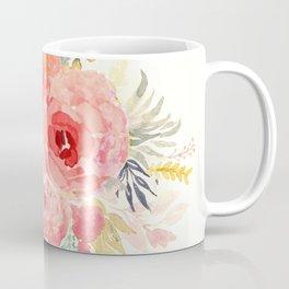 Pink Flower Bouquet Coffee Mug