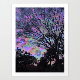 Mercury Views Art Print