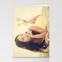 asian Stationery Cards featuring Asian Beauty by visualspectrum