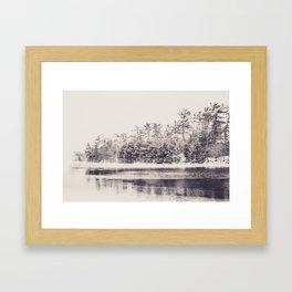 Papermill Lake Framed Art Print
