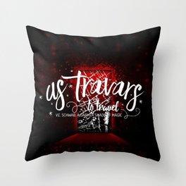 As Travars Throw Pillow