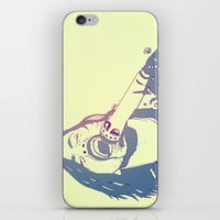 dave grohl iPhone & iPod Skins featuring Dave Grohl by Giuseppe Cristiano