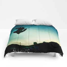 Swinging Comforters