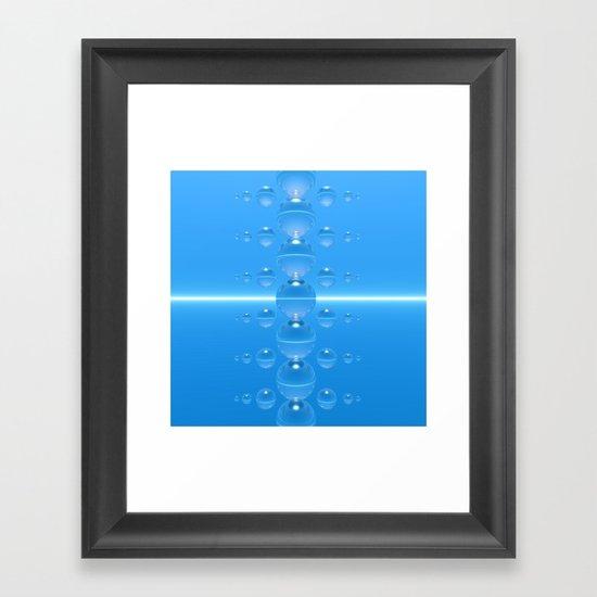 Crystal Totem II Framed Art Print