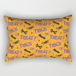 Trick or Treat? Rectangular Pillow